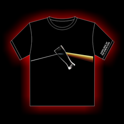 Dark Side of the Brew Shirt - Beer Colored